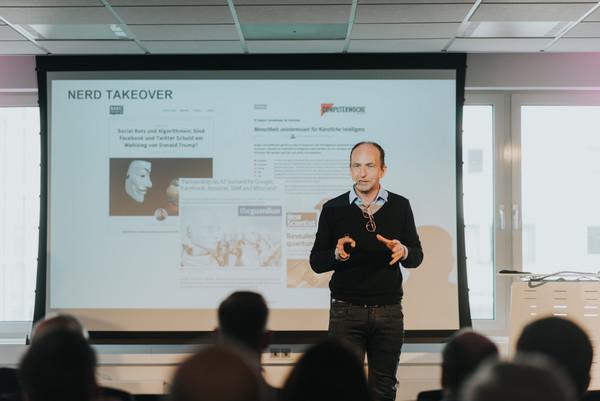 Sven Krüger - Keynote Speaker, Foto von Nina Skripietz